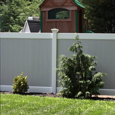 Color Vinyl Fence Gallery