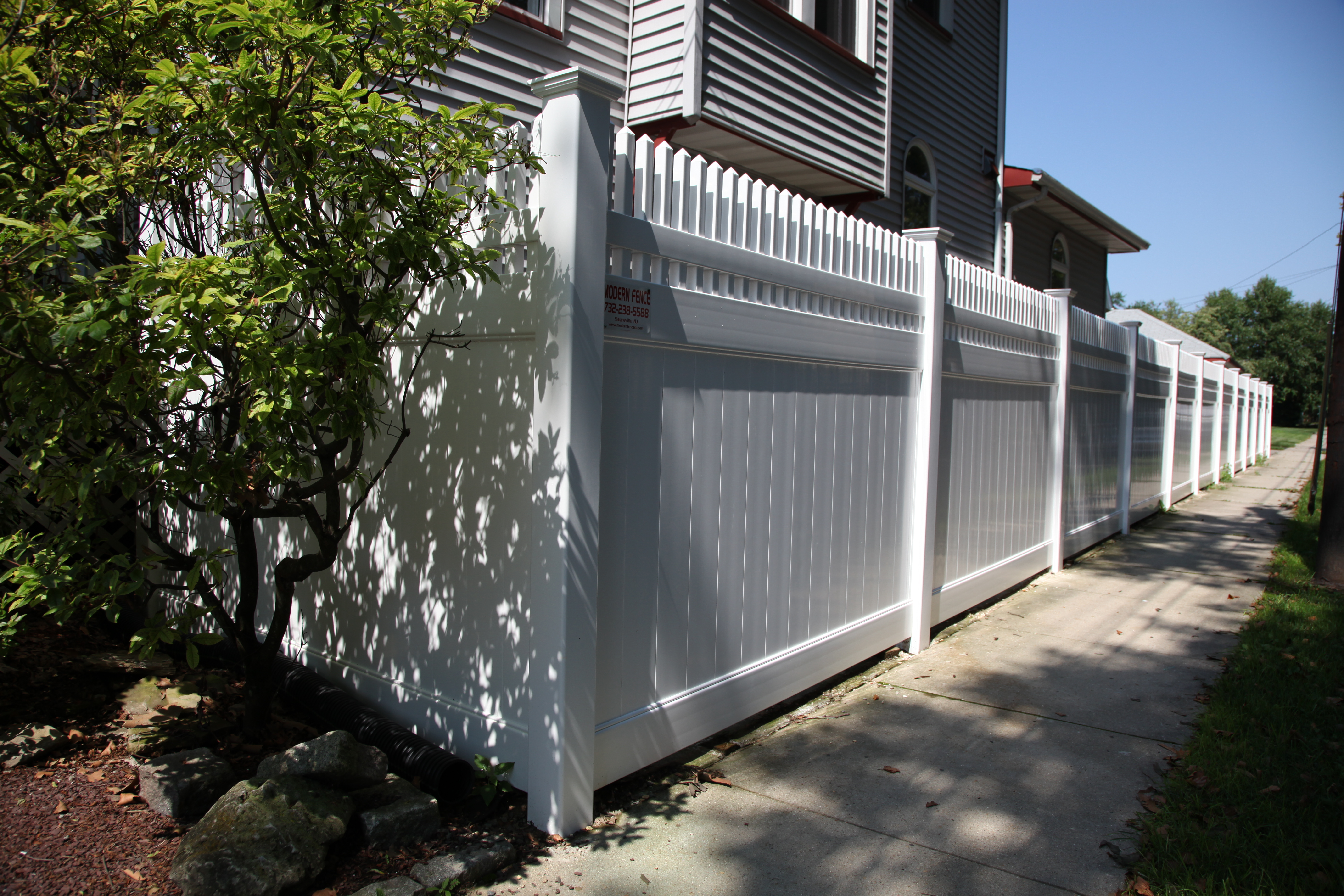 Vinyl Fence Gallery