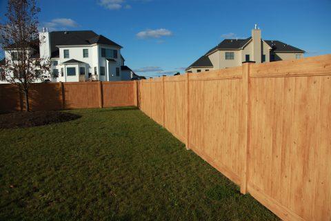 Vinyl Wood Fence Gallery