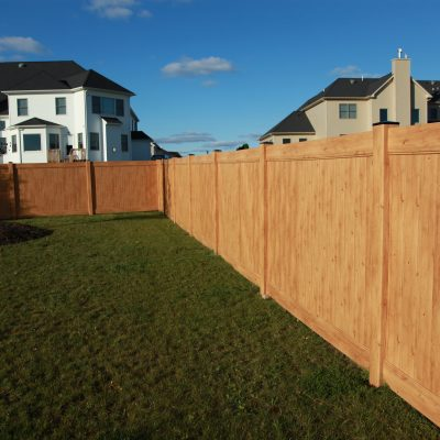 Vinyl Wood Fence Gallery