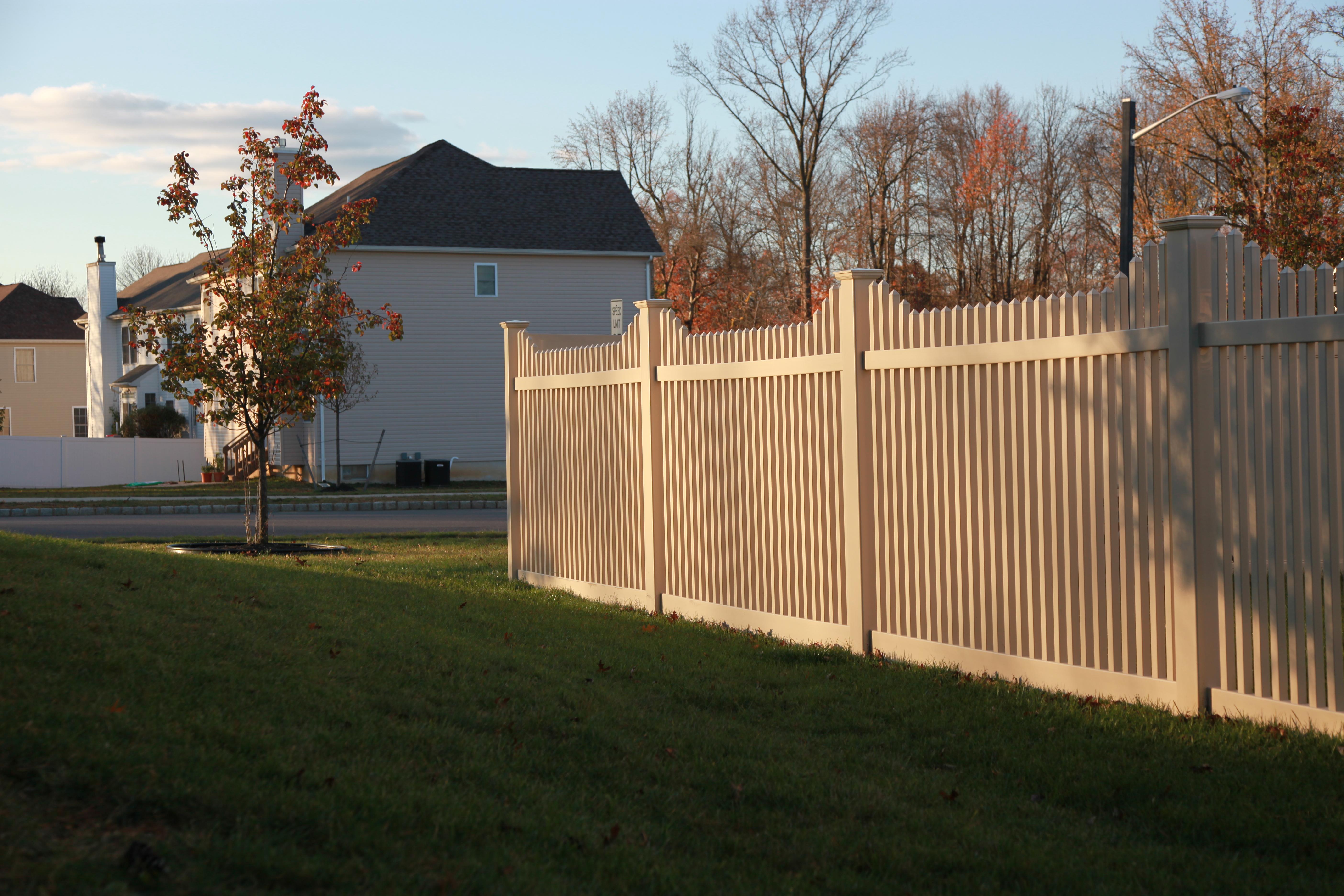 Color Vinyl Fence Gallery